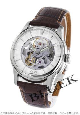 オリス ORIS 腕時計 アートリエ スケルトン メンズ 734 7670 4051D