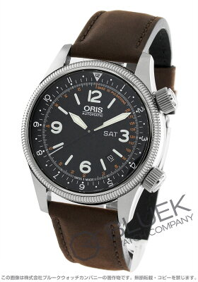 オリス ORIS 腕時計 ビッグクラウン ロイヤルフライングドクターサービス リミテッドエディション 世界限定2000本 メンズ 735 7672 4084F