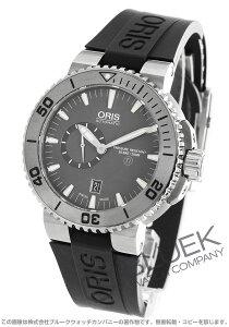 オリス ORIS 腕時計 アクイス スモールセコンド デイト 500m防水 メンズ 743 7664 7253R