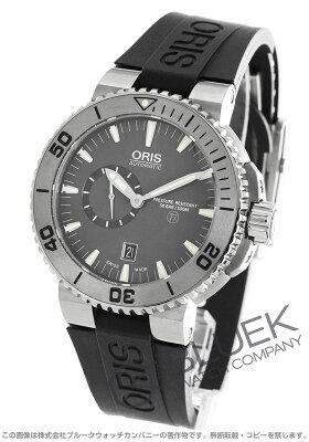 オリス アクイス スモールセコンド デイト 500m防水 腕時計 メンズ ORIS 743 7664 7253R