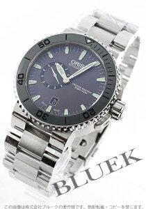オリス ORIS 腕時計 アクイス スモールセコンド デイト 500m防水 メンズ 743 7673 4157M