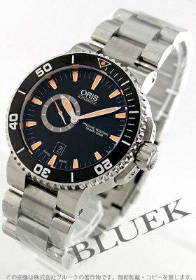 オリス アクイス スモールセコンド デイト 500m防水 腕時計 メンズ ORIS 743 7673 4159M