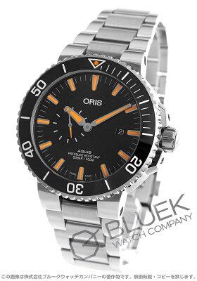 オリス アクイス スモールセコンド デイト 500m防水 腕時計 メンズ ORIS 743 7733 4159M