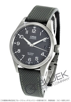 オリス ORIS 腕時計 ビッグクラウン プロパイロット メンズ 751 7697 4063DGY