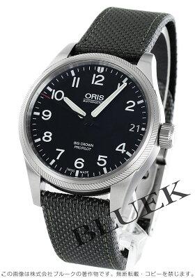 オリス ORIS 腕時計 ビッグクラウン メンズ 751 7697 4164DGY