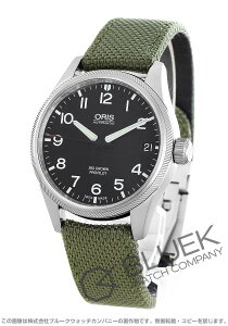オリス ORIS 腕時計 ビッグクラウン サテンレザー メンズ 751 7697 4164DOL