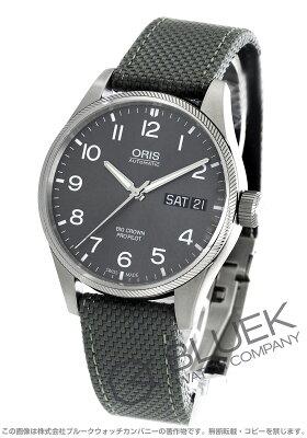 オリス ORIS 腕時計 ビッグクラウン プロパイロット メンズ 752 7698 4063DGY