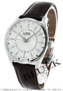 オリス ORIS 腕時計 アーティックス ポインタームーン デイト メンズ 761 7691 4051D
