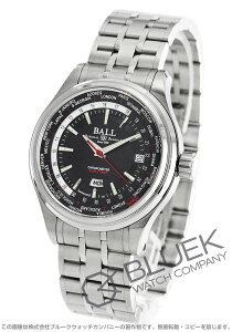 ボールウォッチ BALL WATCH 腕時計 トレインマスター ワールドタイムII メンズ GM2020D-S3CJ-BK