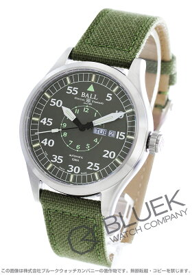 ボールウォッチ BALL WATCH 腕時計 エンジニアマスターII アビエーター キャンパスレザー メンズ NM1080C-N5J-GY