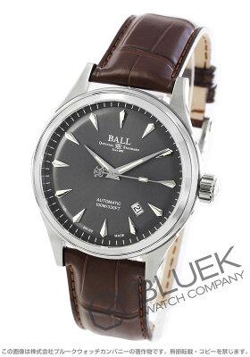 ボールウォッチ BALL WATCH 腕時計 ファイアーマン レーサー クラシック アリゲーターレザー メンズ NM2288C-LJ-GY