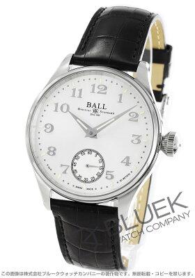 ボールウォッチ BALL WATCH 腕時計 トレインマスター クリーブランド ナイト エクスプレス クロコレザー メンズ NM3038D-LL2J-WH
