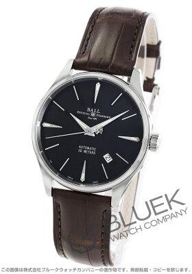 ボールウォッチ BALL WATCH 腕時計 トレインマスター レジェンド クロコレザー メンズ NM3080D-LJ-BK