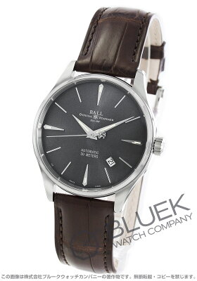 ボールウォッチ BALL WATCH 腕時計 トレインマスター レジェンド クロコレザー メンズ NM3080D-LJ-GY