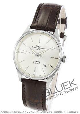 ボールウォッチ BALL WATCH 腕時計 トレインマスター レジェンド クロコレザー メンズ NM3080D-LJ-SL