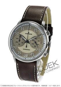 ユンハンス JUNGHANS 腕時計 マイスター ドライバー クロノスコープ メンズ 027/3684.00
