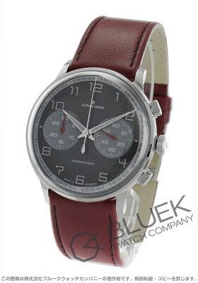 ユンハンス JUNGHANS 腕時計 マイスター ドライバー クロノスコープ メンズ 027/3685.00