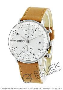 ユンハンス JUNGHANS 腕時計 マックスビル クロノスコープ メンズ 027/4502.00