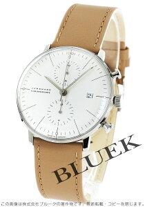 ユンハンス JUNGHANS 腕時計 マックスビル クロノスコープ メンズ 027/4600.00B