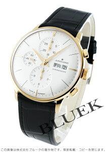 ユンハンス JUNGHANS 腕時計 マイスター クロノスコープ アリゲーターレザー メンズ 027/7323.01