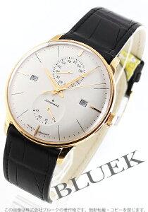 ユンハンス JUNGHANS 腕時計 マイスター アジェンダ アリゲーターレザー メンズ 027/7366.00