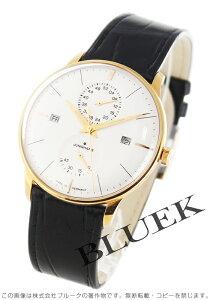 ユンハンス JUNGHANS 腕時計 マイスター アジェンダ アリゲーターレザー メンズ 027/7366.01