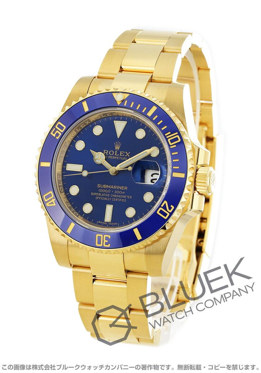 ロレックス サブマリーナー デイト 300m防水 YG金無垢 腕時計 メンズ ROLEX 116618LB