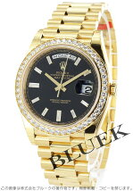 ロレックス Rolex デイデイト ダイヤ YG金無垢 メンズ Ref.228348RBR