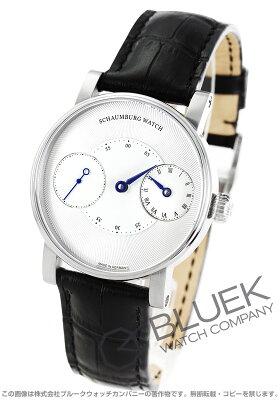 シャウボーグ SCHAUMBURG 腕時計 トリブル レギュレーター メンズ TRIBLE-BBL