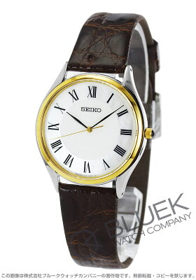 セイコー SEIKO 腕時計 ドルチェ カイマンレザー メンズ SACM152