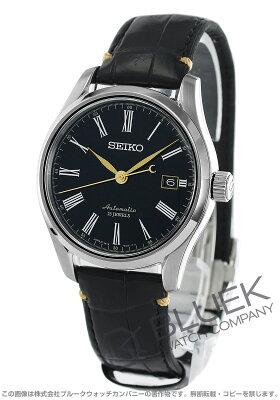 セイコー プレザージュ クロコレザー 腕時計 メンズ SEIKO SARX029