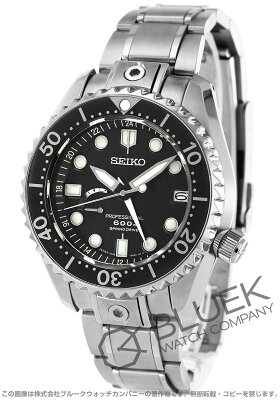 セイコー プロスペックス マリーンマスター プロフェッショナル デュアルタイム パワーリザーブ GMT 600m防水 腕時計 メンズ SEIKO SBDB011
