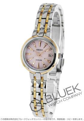 セイコー SEIKO 腕時計 エクセリーヌ ダイヤ レディース SWCW018