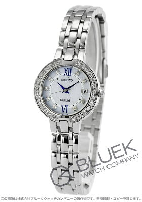 セイコー SEIKO 腕時計 エクセリーヌ ダイヤ レディース SWCW083
