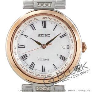 セイコー エクセリーヌ ダイヤ 腕時計 レディース SEIKO SWCW106