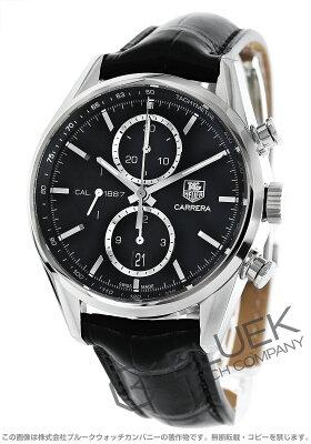 タグホイヤー TAG Heuer 腕時計 カレラ 1887 クロノグラフ アリゲーターレザー メンズ CAR2110.FC6266