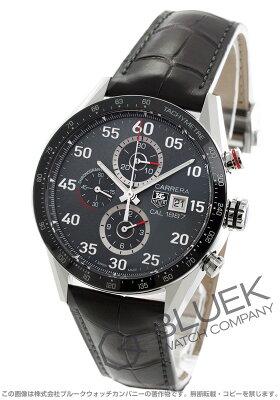タグホイヤー TAG Heuer 腕時計 カレラ 1887 クロノグラフ アリゲーターレザー メンズ CAR2A11.FC6313