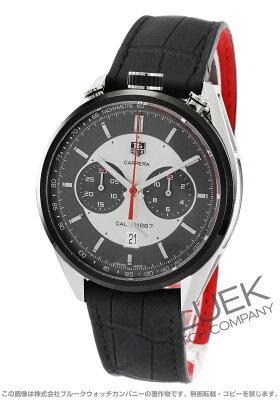 タグホイヤー TAG Heuer 腕時計 カレラ 1887 クロノグラフ ジャック・ホイヤー記念モデル アリゲーターレザー メンズ CAR2C11.FC6327