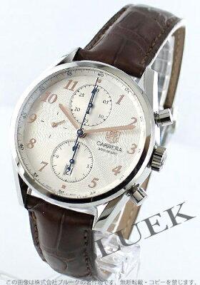 タグホイヤー カレラ ヘリテージ クロノグラフ アリゲーターレザー 腕時計 メンズ TAG Heuer CAS2112.FC6291
