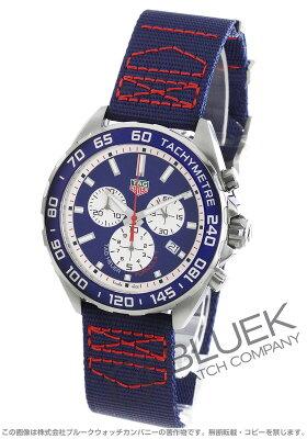 タグホイヤー フォーミュラ1 レッドブル レーシングスペシャル クロノグラフ 腕時計 メンズ TAG Heuer CAZ1018.FC8213