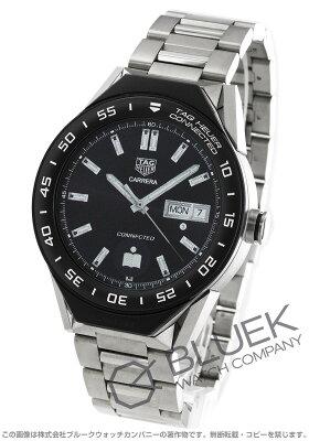タグホイヤー コネクテッド モジュラー クロノグラフ パワーリザーブ GMT 腕時計 メンズ TAG Heuer SBF8A8001.10BF0608