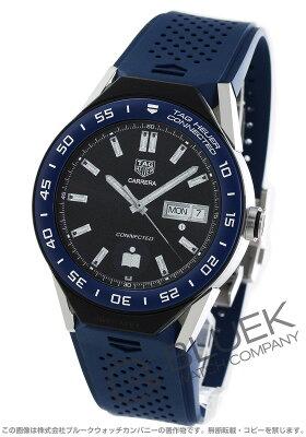 タグホイヤー コネクテッド モジュラー クロノグラフ パワーリザーブ GMT 腕時計 メンズ TAG Heuer SBF8A8012.11FT6077