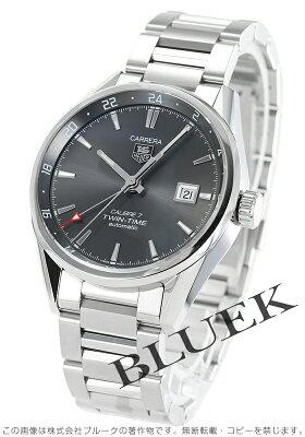タグホイヤー カレラ デュアルタイム 腕時計 メンズ TAG Heuer WAR2012.BA0723