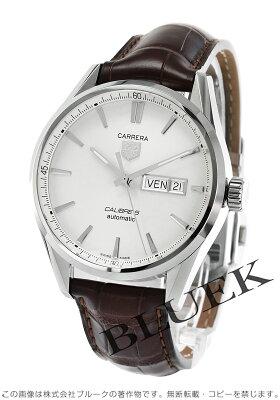 タグホイヤー カレラ アリゲーターレザー 腕時計 メンズ TAG Heuer WAR201B.FC6291