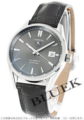 タグホイヤー TAG Heuer 腕時計 カレラ アリゲーターレザー メンズ WAR211C.FC6336