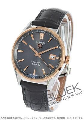タグホイヤー TAG Heuer 腕時計 カレラ アリゲーターレザー メンズ WAR215E.FC6336