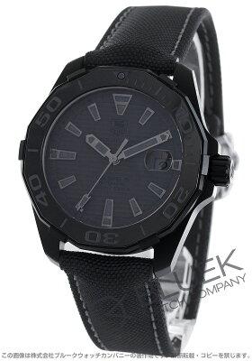 タグホイヤー アクアレーサー ブラックファントム 世界限定2500本 300m防水 腕時計 メンズ TAG Heuer WAY218B.FC6364