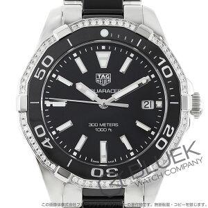 タグホイヤー アクアレーサー 300m防水 ダイヤ 腕時計 レディース TAG Heuer WAY131G.BA0913