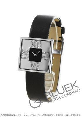 ティファニー カクテル ダイヤ サテンレザー 腕時計 レディース TIFFANY Z1950.10.40E10A40E