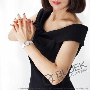 ティファニー アトラス ダイヤ WG金無垢 サテンレザー 腕時計 レディース TIFFANY Z1900.10.40E91A40B